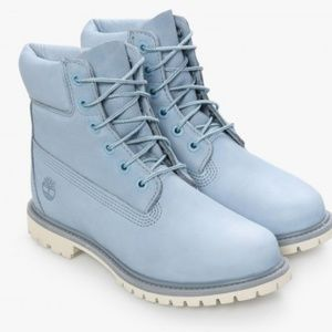 💙JUST IN! Sky Blue Timberland Boots